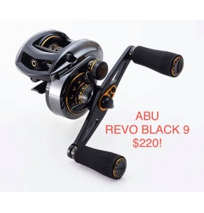 AbuGarcia REVO BLACK 9-Left