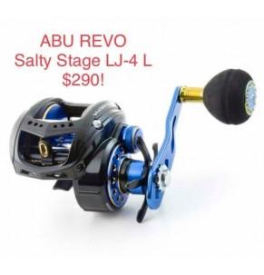 Reel Abu Garcia Salty Stage Revo LJ-4-L
