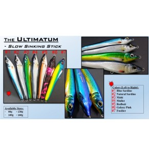 Lure Amberjack Ultimatum 100g SS