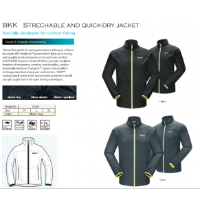 Apparel BKK Quick Dry Jacket 1526