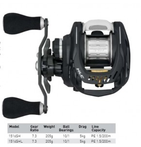 Reel Daiwa Zillion TW HLC
