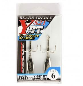 Hook Decoy Blade Treble Y-S21BT