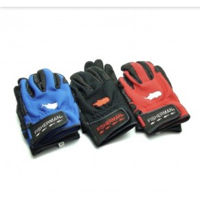 Accessories Fisherman 3D Glove Red