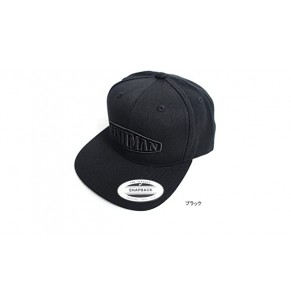 Apparel Fishman Flat Bill Cap Black