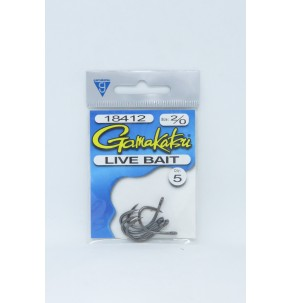 Hook Gamakatsu Live Bait Nickel