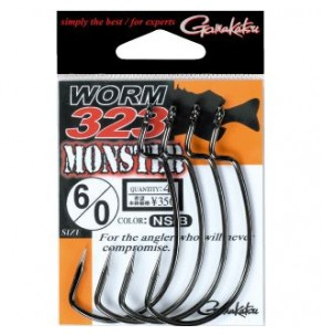 Hook Gamakatsu WORM323 Monster NSB