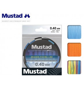 Braided Line Mustad Thor 110m Hot Orange