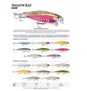 Lure Rapala Shadow Rap 11cm 13g