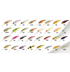 Lure Zerek FCS Tango Shad Float 50mm
