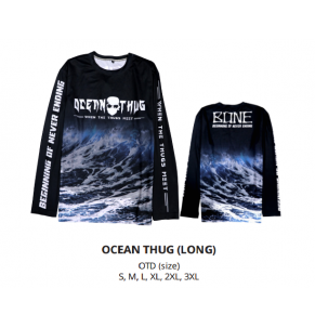 Apparel Bone OceanThug Waves L-Sleeve