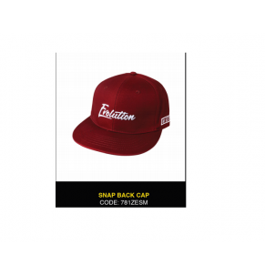 Apparel Zerek Evolution Snapback Cap Maroon