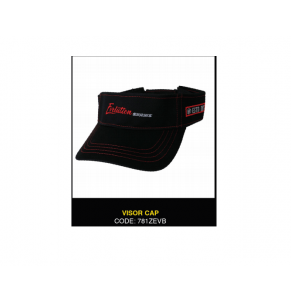 Apparel Zerek Evolution Visor Cap Black