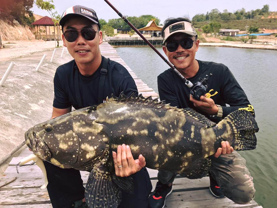Outing to Balarang (Batam) Grouper Pond